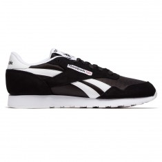 Reebok Royal Nylon Shoes - Black/Black/White