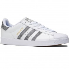 Adidas Superstar Vulc Adv Shoes - Crystal White/Solid Grey/White