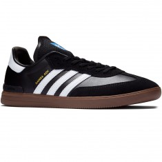 Adidas Samba ADV Shoes - Black/White/Gum