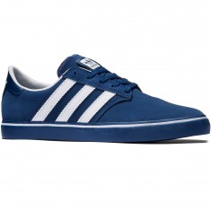 Adidas Seeley Premiere Shoes - Mystery Blue/White/Mystery Blue