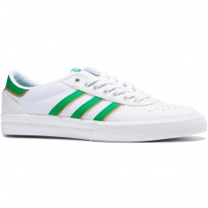 Adidas Lucas Premiere ADV Shoes - White/Green/White