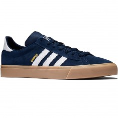 Adidas Campus Vulc II Shoes - Collegiate Navy/White/Gum