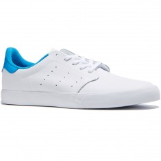 Adidas Seeley Court Shoes - White/White/Bright Blue