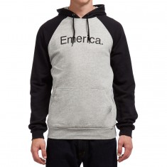 Emerica Purity Pullover Hoodie - Black/Grey