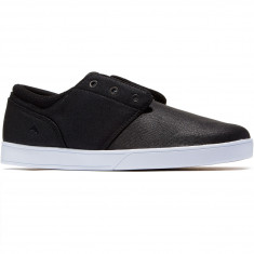 Emerica The Figueroa Shoes - Black/White/Black