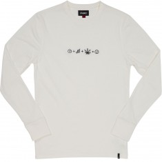 Altamont Formula Long Sleeve T-Shirt - Dirty White