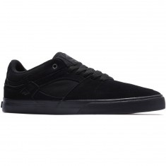 Emerica The Hsu Low Vulc Shoes - Black/Black