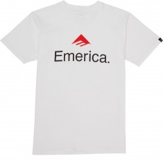 Emerica Skateboarding Logo T-Shirt - White