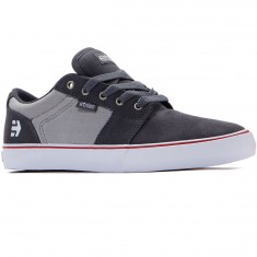 Etnies Barge LS Shoes - Dark Grey/Grey/Red