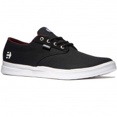 Etnies Jameson SC Shoes - Black/White/Burgundy