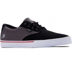 Etnies Jameson Vulc Shoes - Black/Dark Grey/Silver