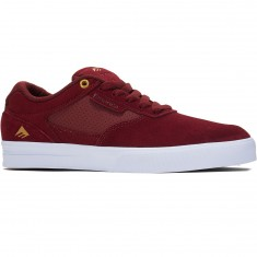 Emerica Empire G6 Shoes - Burgundy/White