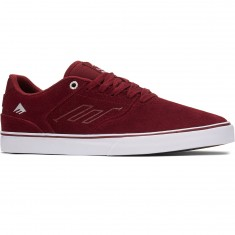 Emerica The Reynolds Low Vulc Shoes - Red/White/Gum