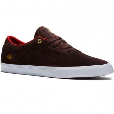 Emerica The Herman G6 Vulc Shoes - Brown/White