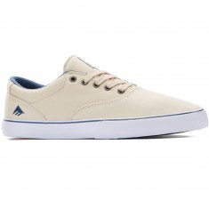 Emerica Provost Slim Vulc Shoes - White/Blue