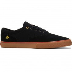 Emerica Provost Slim Vulc Shoes - Black/Gum
