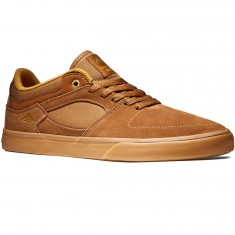 Emerica The Hsu Low Vulc Shoes - Brown/Gum