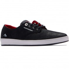 Emerica The Romero Laced x Indy Shoes - Black/Grey/Black