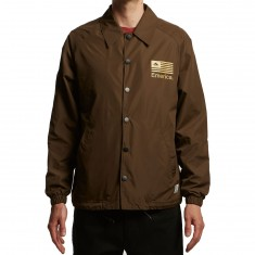 Emerica Darkness Jacket - Dark Brown