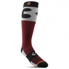 Thirty Two Corp Socks - Oxblood