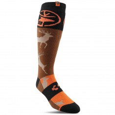 Thirty Two Stag Socks - Copper