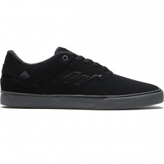 Emerica The Reynolds Low Vulc Shoes - Black/Grey