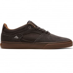 Emerica The Hsu Low Vulc Shoes - Dark Grey