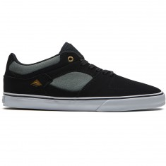 Emerica The Hsu Low Vulc Shoes - Black/Grey/White