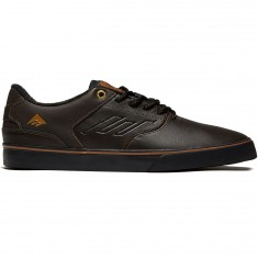 Emerica The Reynolds Low Vulc Shoes - Dark Brown