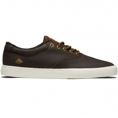 Emerica Provost Slim Vulc Shoes - Brown