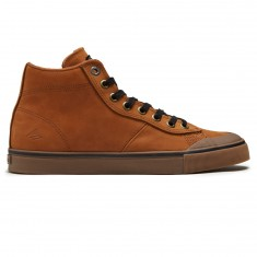 Emerica X Pendleton Indicator High Shoes - Brown/Gum