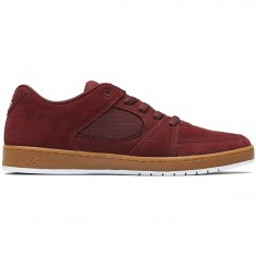 eS Accel Slim Shoes - Burgundy/Gum