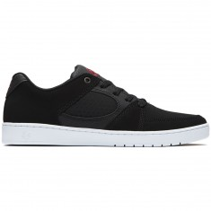 eS Accel Slim Shoes - Black/White/Red