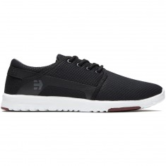 Etnies Scout Shoes - Black/Dark Grey/Red