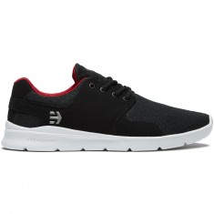 Etnies Scout XT Shoes - Black/White/Red