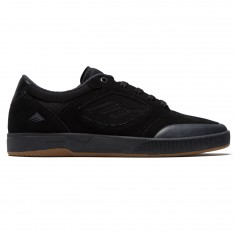 Emerica Dissent Shoes - Black/Black