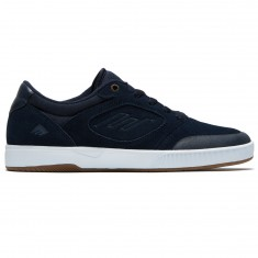 Emerica Dissent Shoes - Navy/White