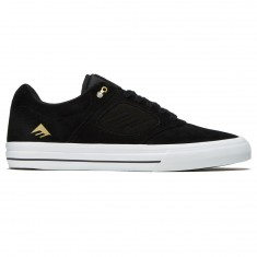 Emerica Reynolds 3 G6 Vulc Shoes - Black/White/Gold