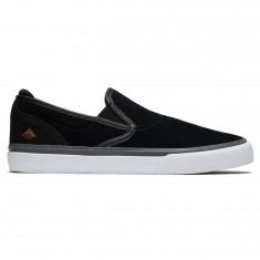 Emerica Wino G6 Slip On Shoes - Black/Grey/White
