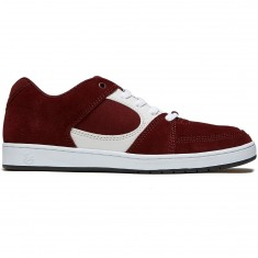 eS X Tres Accel Slim Shoes - Red/White/Black