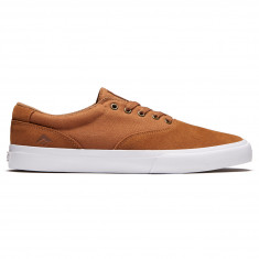 Emerica Provost Slim Vulc Shoes - Tan/White