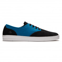 Emerica Romero Laced X Toy Machine Shoes - Black/Turquoise