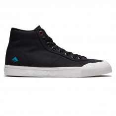 Emerica Indicator High X Toy Machine Shoes - Black/Grey
