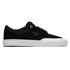 Etnies Marana Vulc Shoes - Black/White/Silver