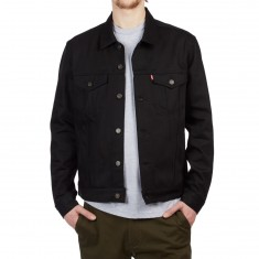 Levi's Red Tab Trucker Jacket - Polished Black
