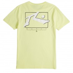 Rusty TV Screen 5 T-Shirt - Pale Lime