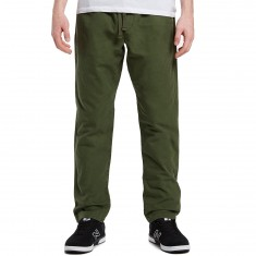 Obey Traveller Slub Twill Pants - Dark Army