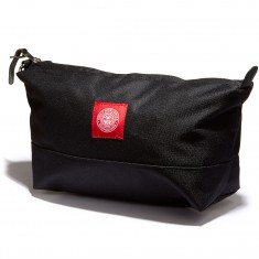 Obey Revolt Red Wash Bag - Black