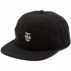 Obey Creeper 6 Panel Hat - Black