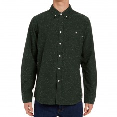 Obey Hadley Long Sleeve Shirt - Heather Pine